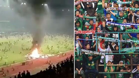 Hình ảnh xấu xí tiếp diễn trên sân cỏ Indonesia