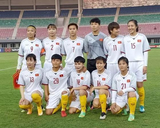 ĐT nữ Việt Nam. Ảnh: Đoàn Nhật