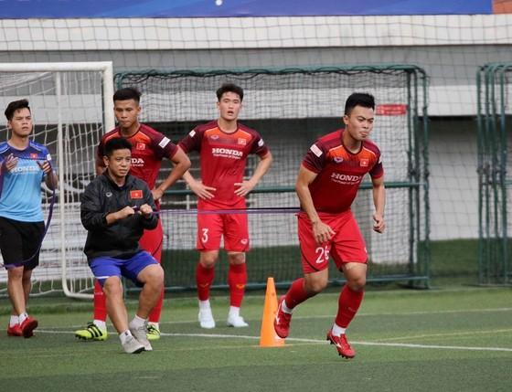 Lãnh đạo Tổng cục TDTT và VFF găp gỡ hai đội bóng Việt Nam ảnh 3