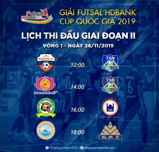 SHK Nghệ An gặp Thái Sơn Bắc ở giải futsal Cúp QG 2019 ảnh 2