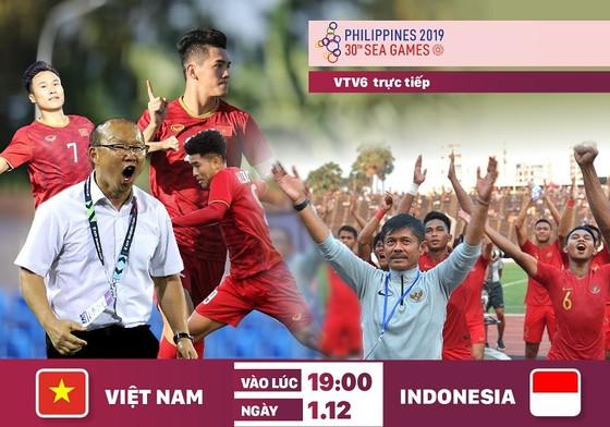 Việt Nam đã thắng Indonesia 2 lần trong các cuộc so tài trong năm 2019. (Đồ họa: Hữu Vi)