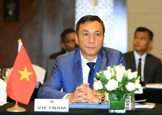 Phó chủ tịch VFF Trần Quốc Tuấn. Ảnh: Đoàn Nhật