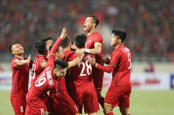 Bóng dá Việt Nam thăng tiến trong 2 năm qua.