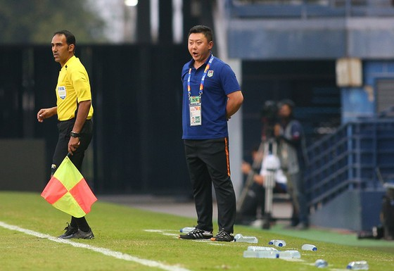 HLV U23 Triều Tiên tự tin trước cuộc đụng độ với thầy Park ảnh 1