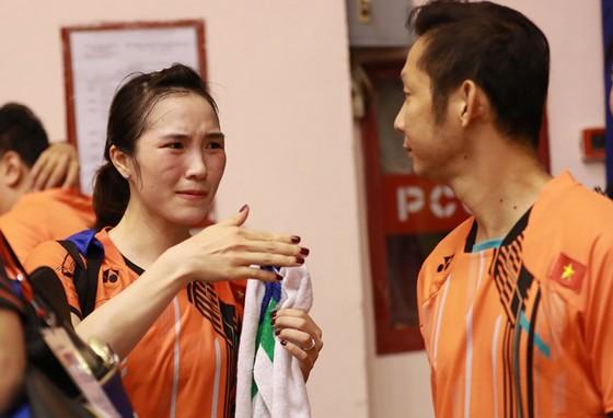 """Vợ chồng Tiến Minh """"quên"""" Lễ tình nhân, miệt mài hướng đến Olympic ảnh 1"""