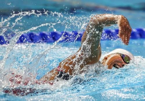 Ánh Viên đã có thể hài lòng khi phía sau mình có VĐV kế cận các cự ly bơi tự do nữ