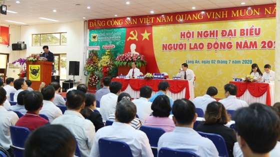 Hội nghị đại biểu Người lao động của Công ty CPPB Bình Điền năm 2020.