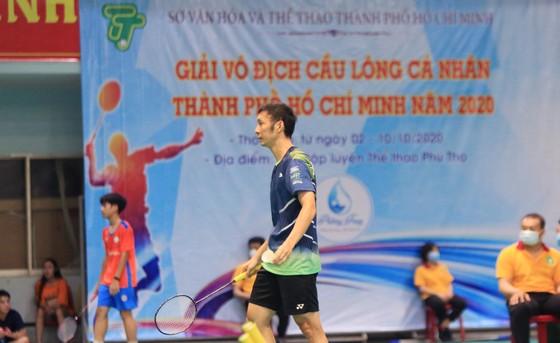 Giải Vô địch cầu lông cá nhân TPHCM 2020: Vũ Thị Anh Thư bất ngờ đánh bại đàn chị Vũ Thị Trang ảnh 2