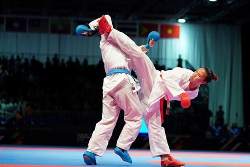 Các tuyển thủ karatedo thuộc nhóm được ưu tiên tiêm vaccine Covid-19 để thi đấu quốc tế.