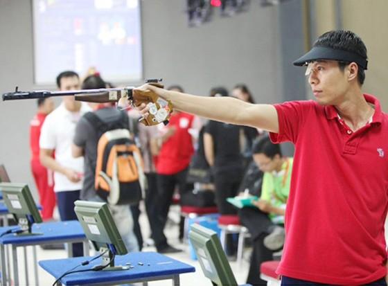 Xạ thủ Trần Quốc Cường chưa thể giúp bắn súng Việt Nam giành vé dự Olympic Tokyo 2020.