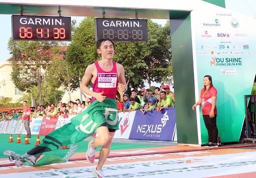 Bùi Thế Anh trở lại đường đua marathon ảnh 1
