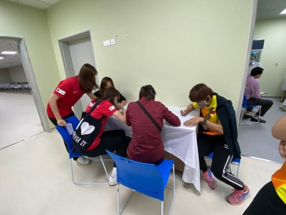 17 thành viên đầu tiên của thể thao Việt Nam được tiêm vaccine Covid-19 ảnh 3