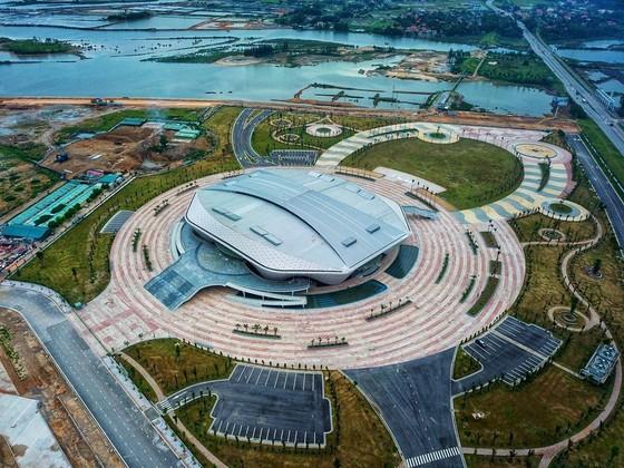 So tài đỉnh cao ở Nhà thi đấu hoành tráng phục vụ SEA Games 31 ảnh 1