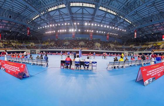 Nhà thi đấu hiện đại của Quảng Ninh sẽ đăng cai vòng 1 Giải bóng chuyền VĐQG 2021.