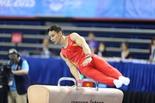 Đinh Phương Thành được xét chuẩn dự Olympic từ Giải VĐTG 2019.