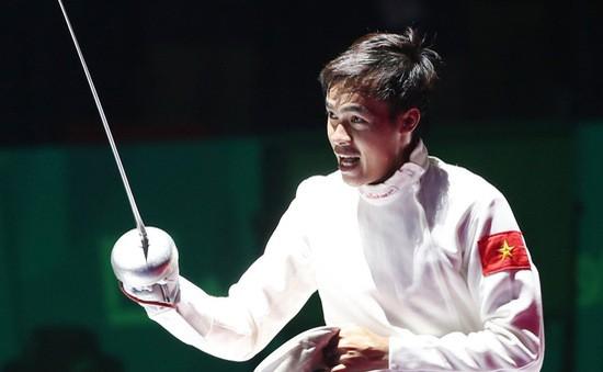 Nguyễn Tiến Nhật chưa thể giúp đấu kiếm Việt Nam đoạt vé dự Olympic.
