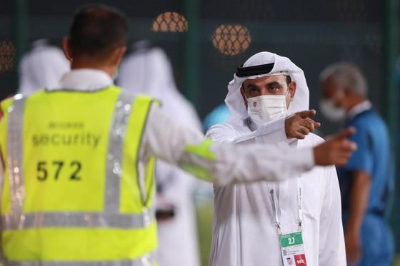 AFC cắt cử nhân viên giám sát chặt chẽ các buổi tập của đội tuyển Việt Nam. Ảnh: KHƯƠNG DUY