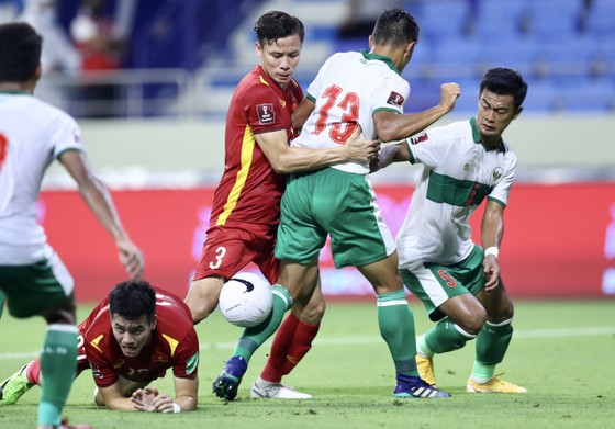 Những khoảnh khắc ấn tượng trong chiến thắng 4-0 của Việt Nam trước Indonesia ảnh 2