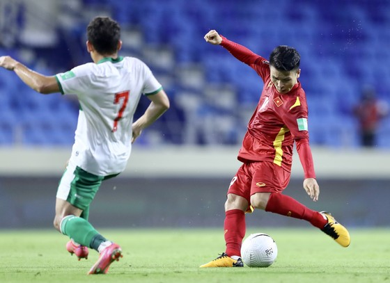 Những khoảnh khắc ấn tượng trong chiến thắng 4-0 của Việt Nam trước Indonesia ảnh 5