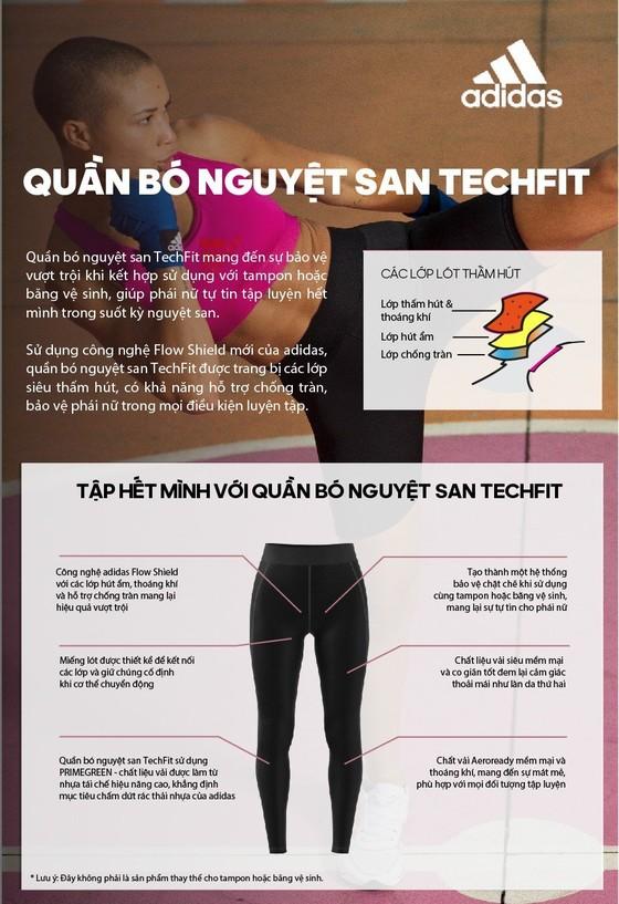 Adidas ra mắt dòng sản phẩm quần bó nguyệt san TechFit ảnh 1