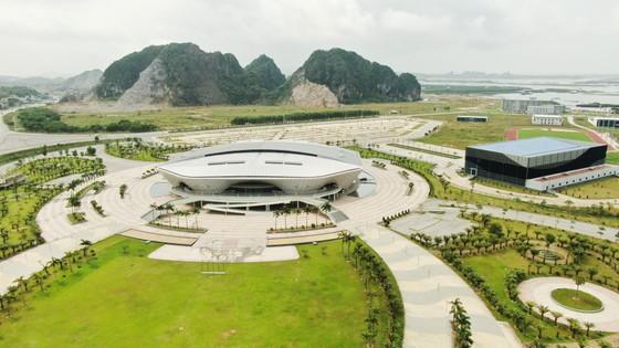 Nhà thi đấu Quảng Ninh sẽ là 1 trong các địa điểm đăng cai SEA Games 31. Ảnh: DŨNG PHƯƠNG