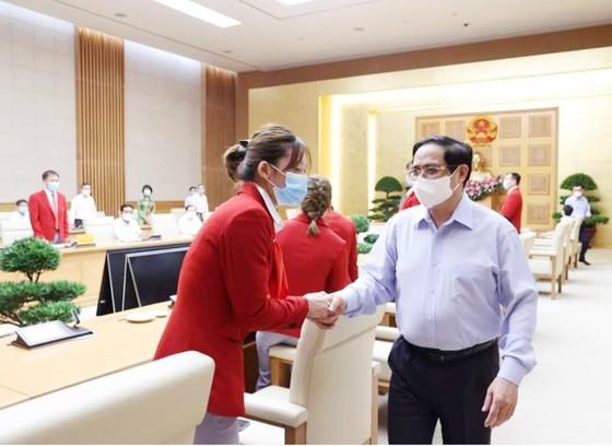 Thủ tướng Chính phủ Phạm Minh Chính động viên Đoàn thể thao Việt Nam tham dự Olympic Tokyo 2020 ảnh 1