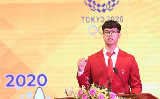 Thủ tướng Chính phủ Phạm Minh Chính động viên Đoàn thể thao Việt Nam tham dự Olympic Tokyo 2020 ảnh 3