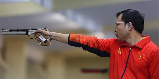 Hoàng Xuân Vinh không thể bảo vệ tấm HCV 10m súng ngắn hơi nam.