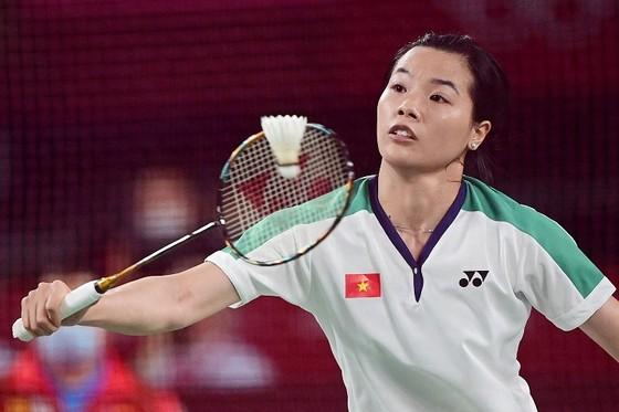 Tay vợt Nguyễn Thuỳ Linh. Ảnh: REUTERS