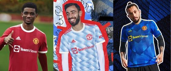 Mẫu áo đấu mới của CLB Man.United.