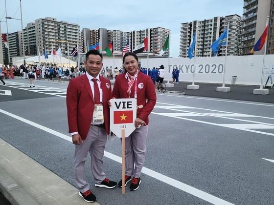 Cao Ngọc Hùng và Nguyễn Thị Hải sẽ thi đấu môn điền kinh vào ngày 28-8. Ảnh: HÙNG HẢI