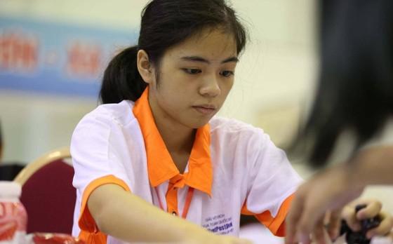 Kỳ thủ Nguyễn Thị Hồng Nhung giành HCV U16 cờ nhanh thế giới.