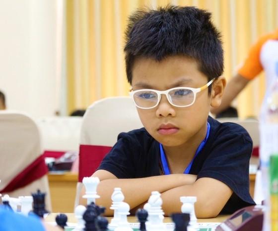 Kỳ thủ Đậu Khương Duy giúp cờ vua trẻ Việt Nam giành HCV lứa tuổi U10 nam. Ảnh: VNchess