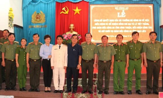 Phó Giám đốc Công an tỉnh Bình Thuận làm Giám đốc Công an tỉnh Bạc Liêu ảnh 2
