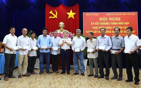 Cà Mau ký kết chương trình phối hợp với Cảnh sát biển Việt Nam ảnh 1