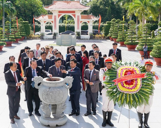 Đại hội đại biểu Đảng bộ tỉnh Cà Mau lần thứ XVI họp phiên trù bị ảnh 1