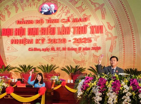 Đại hội đại biểu Đảng bộ tỉnh Cà Mau lần thứ XVI họp phiên trù bị ảnh 2