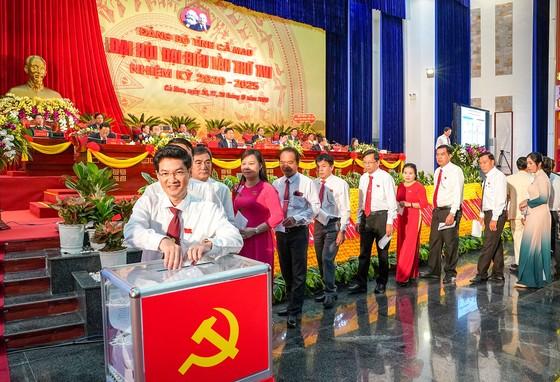 Đồng chí Nguyễn Tiến Hải tái đắc cử Bí thư Tỉnh ủy Cà Mau ảnh 4