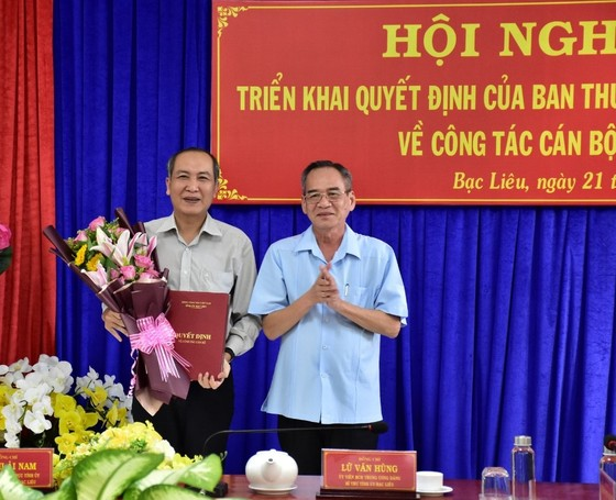 Ông Huỳnh Hữu Trí giữ chức Bí thư Thành ủy Bạc Liêu ảnh 1