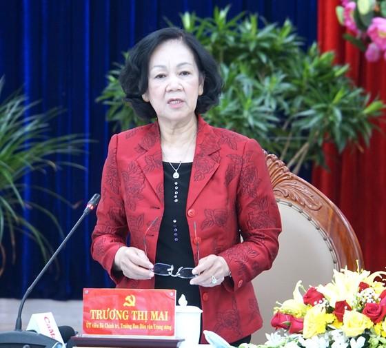 Đồng chí Trương Thị Mai: Xây dựng và thực hiện quy chế dân chủ bảo đảm thực chất và hiệu quả ảnh 1