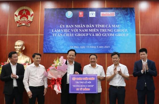 Cà Mau: Tập đoàn Tuần Châu tài trợ 1 tỷ đồng tổ chức lễ hội Hương rừng U Minh ảnh 1