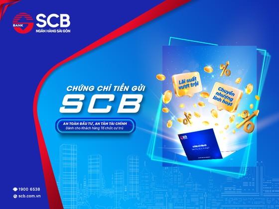 SCB phát hàng chứng chỉ tiền gửi mới dành cho khách hàng doanh nghiệp ảnh 1