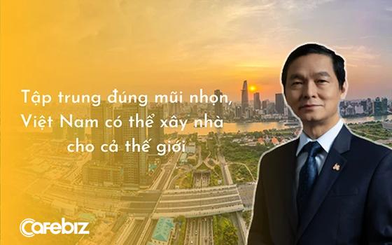 Chủ tịch HBC Lê Viết Hải: Cớ sao chúng ta không trở thành người xây nhà cho cả thế giới, chỉ 1% thị phần cũng đã có 120 tỷ USD ảnh 1