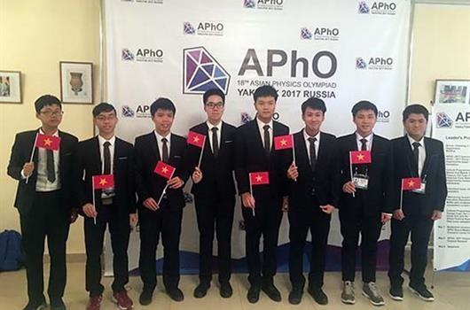 Việt Nam có Huy chương vàng tại Olympic Vật lý Châu Á lần thứ 18 ảnh 1