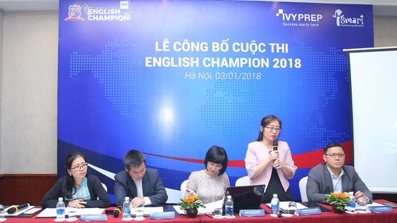 Khởi động cuộc thi tiếng Anh English Champion 2018, giải thưởng lên tới 50 tỷ đồng ảnh 1
