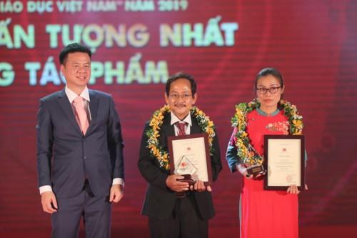 Trao giải báo chí toàn quốc 'Vì sự nghiệp Giáo dục Việt Nam' năm 2019 ảnh 2
