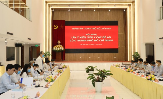 TPHCM xin ý kiến về 3 đề án sẽ trình Bộ Chính trị ảnh 1