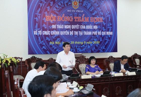 Chính phủ thông qua dự thảo Nghị quyết tổ chức chính quyền đô thị tại TPHCM   ảnh 1
