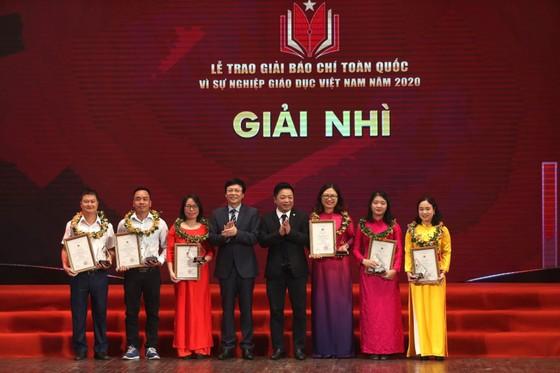 Trao Giải báo chí toàn quốc 'Vì sự nghiệp Giáo dục Việt Nam' 2020 ảnh 3