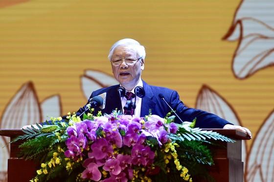 Tổng Bí thư, Chủ tịch nước Nguyễn Phú Trọng: Chấp nhận những điểm khác nhau không trái với lợi ích chung của dân tộc ảnh 4